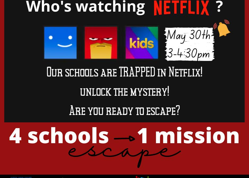 Online Escape Room Poster